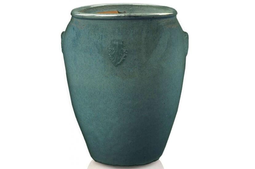 Donica Tall Urn Zielony Morski, średnica 42 cm; wysokość 60 cm