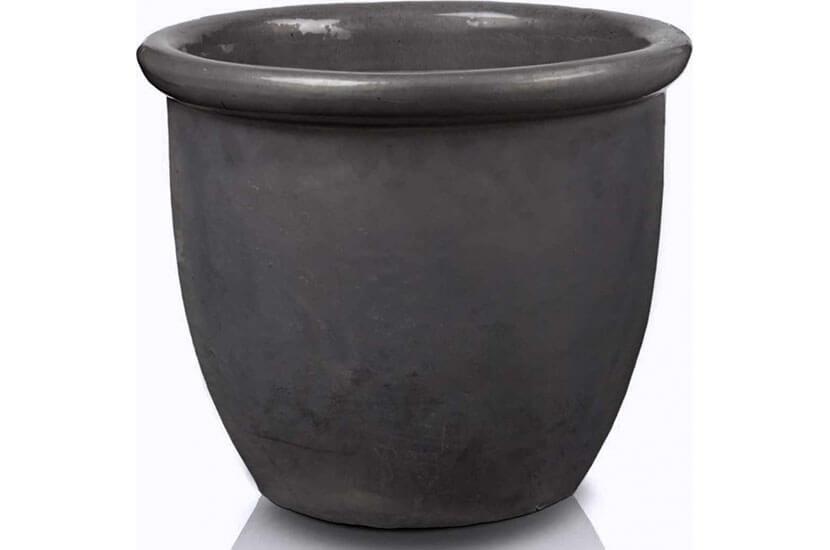Donica ceramiczna Glazed 352 Pot 59 cm x 49 cm Grafit