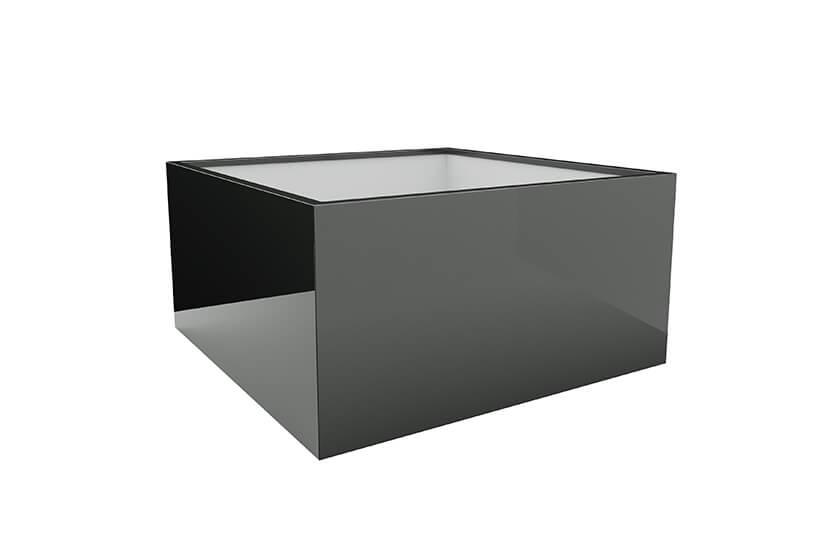 Donica mrozoodporna Fiberglass 100x100x40 cm