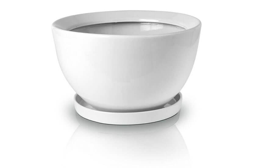 Donica (misa) ceramiczna z podstawkiem 50 x 30 cm