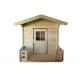Drewniany domek dla dzieci Alicja - z werandą