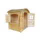 Drewniany domek dla dzieci Ania - półokrągły dach!