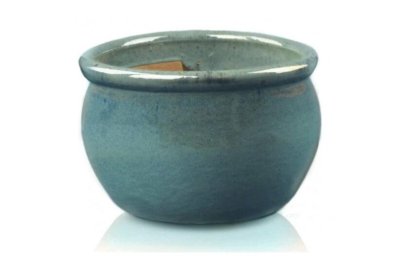 Donica ceramiczna | Glazed Round-Pot 38x25 cm