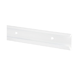 Szyna pozioma BL biały 47x10x1050 mm