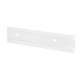 Szyna pozioma BL biały 47x10x1350 mm