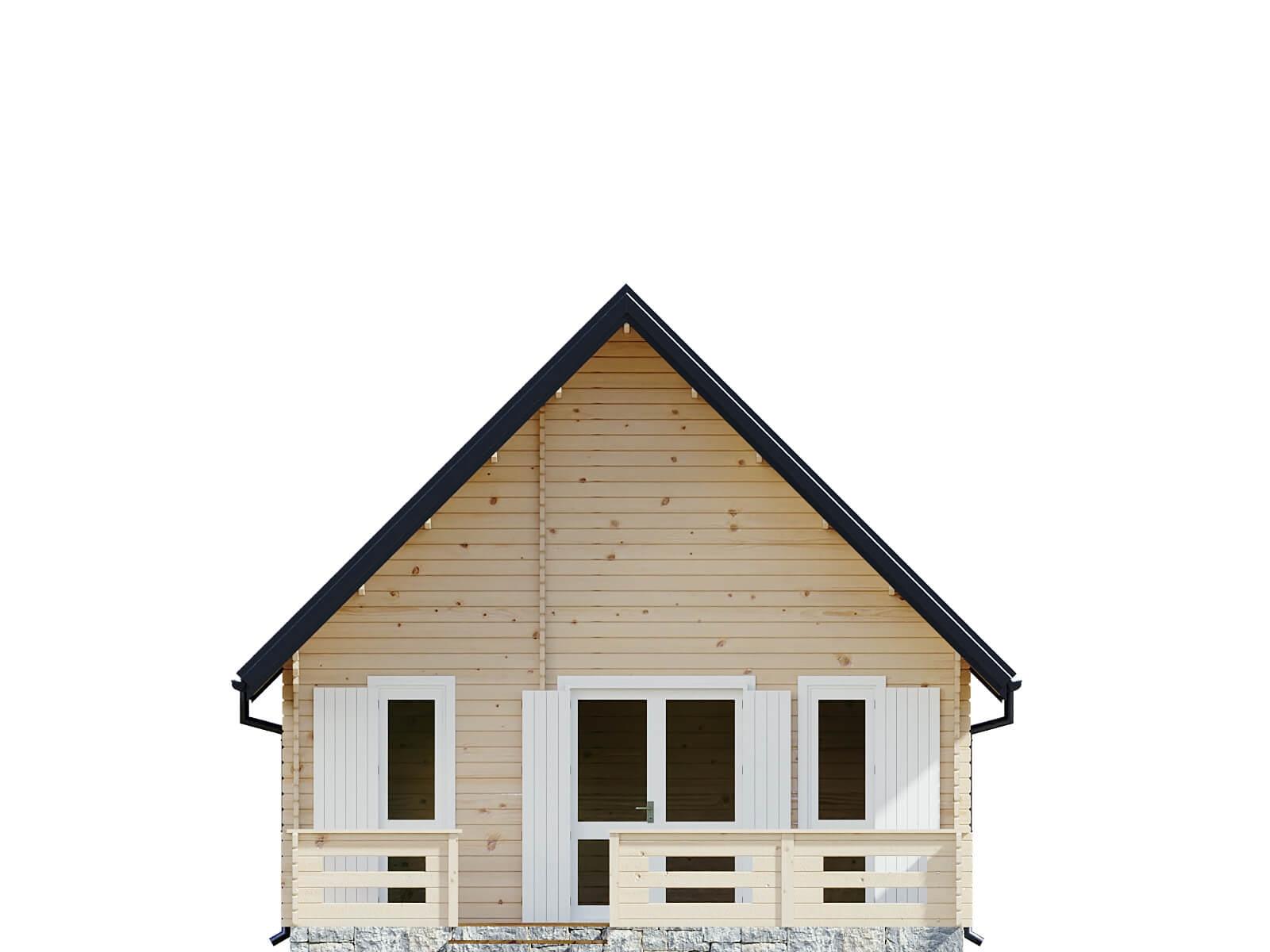 Drewniany domek letniskowy Marsylia IV