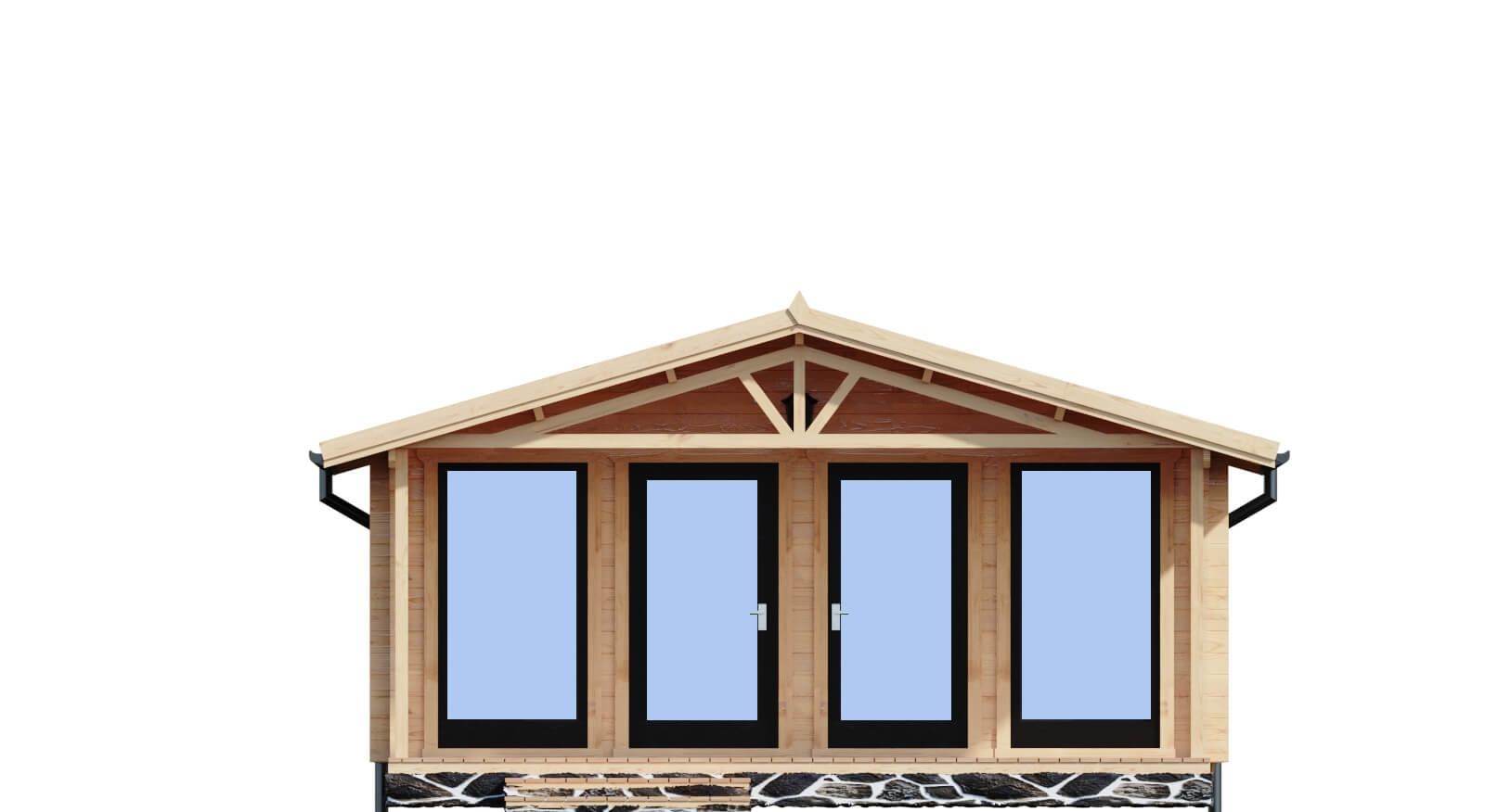 Drewniany domek letniskowy Nicea
