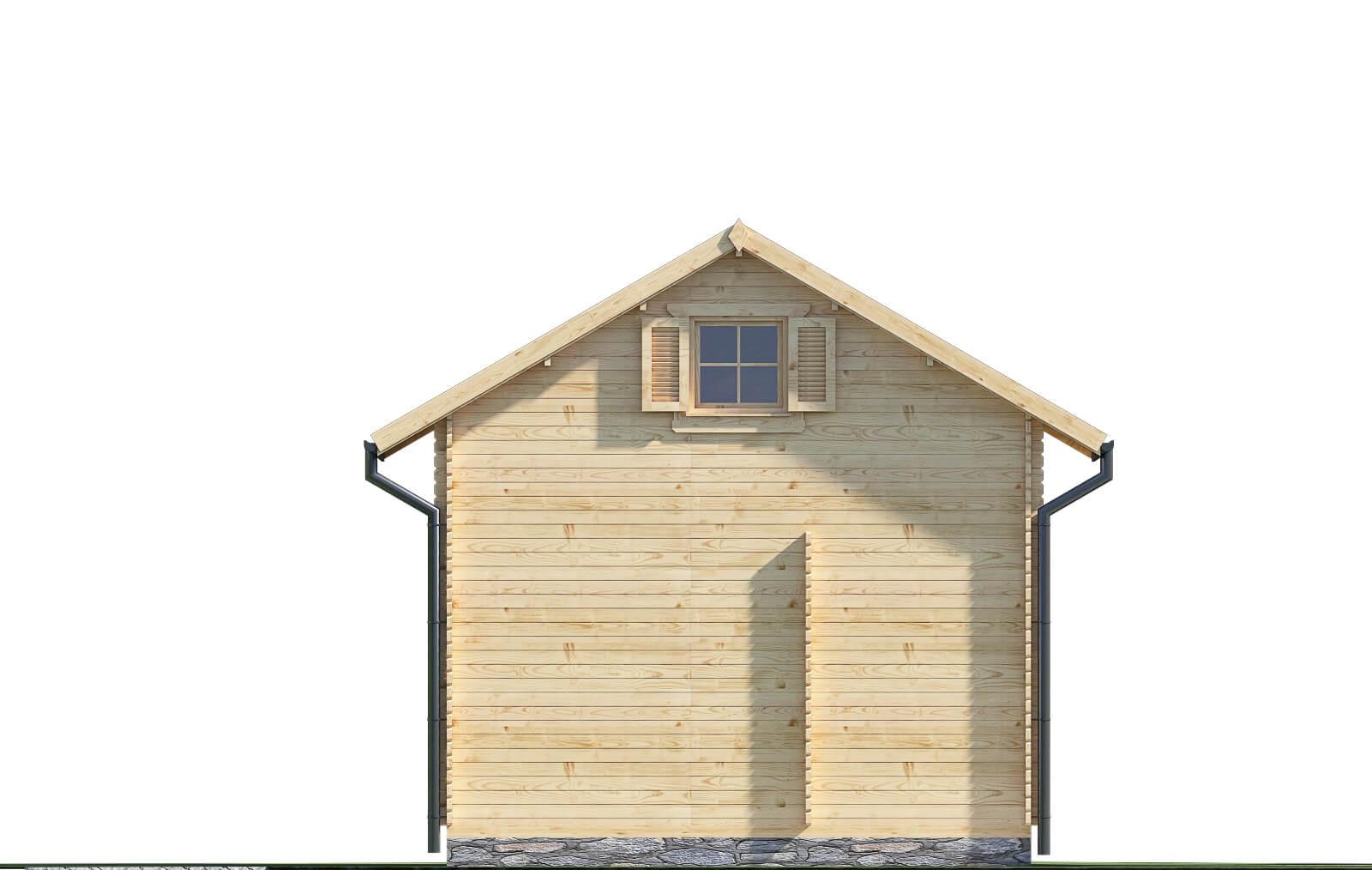 Drewniany domek letniskowy Atalanta