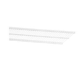 Półka ażurowa 30, kolor biały 14x305x1212 mm