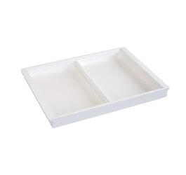 Półka na akcesoria biały - 44x405x530 mm Ellfa
