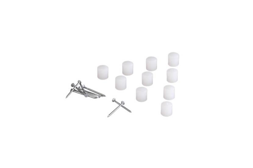 Połączenie półki S3 biały - 20x8x8 mm Elfa