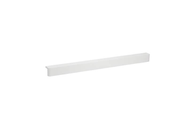 Nakładka półki ażurowej biały - 32x34x607 mm Elfa