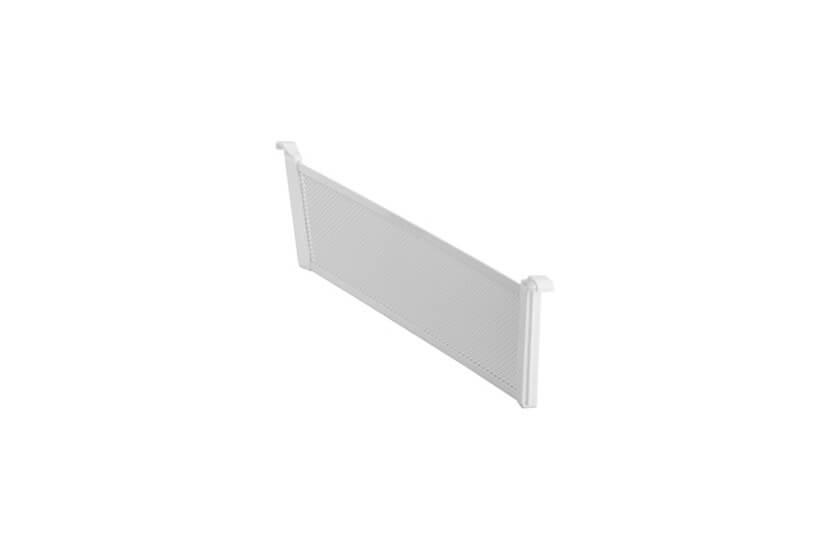 Przegroda kosza Mesh Elfa biały - 80x10x431 mm