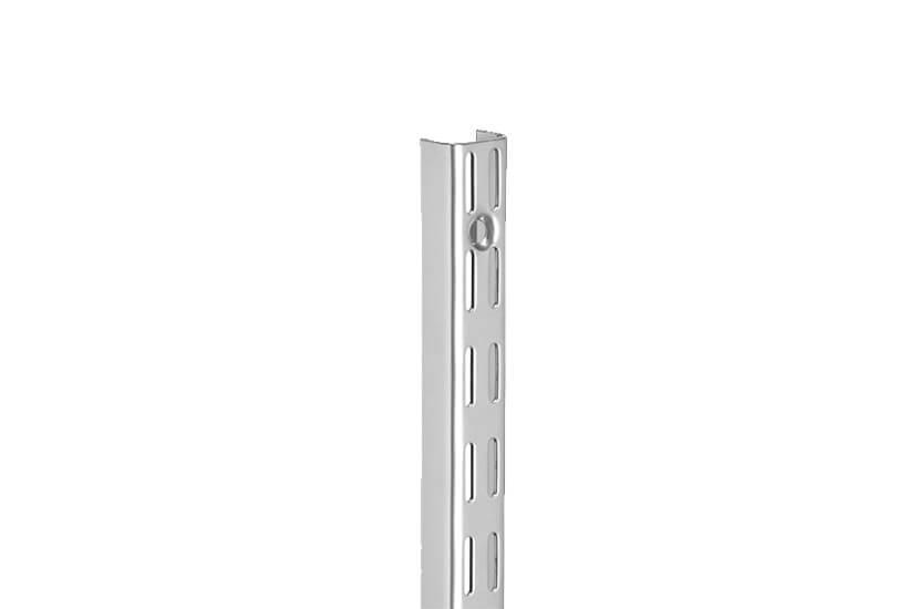 Szyna pionowa V biały 16x25x2396 mm