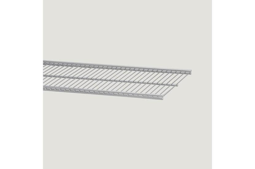 Półka ażurowa 30, kolor platinum 14x305x450 mm