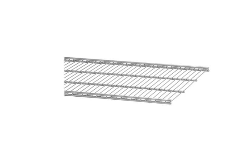 Półka ażurowa 40 kolor platinum szerokość 902 mm, głębokość 405
