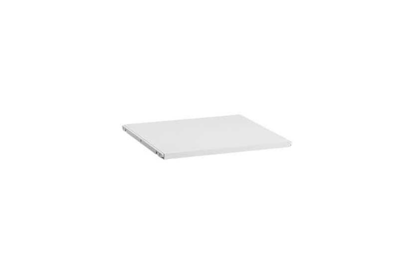 Półka melaminowa 40 Elfa biały - 20x424x449 mm