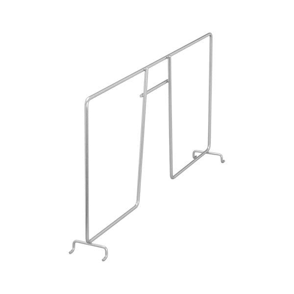 Przegroda półki | Biały 54x411x200 mm