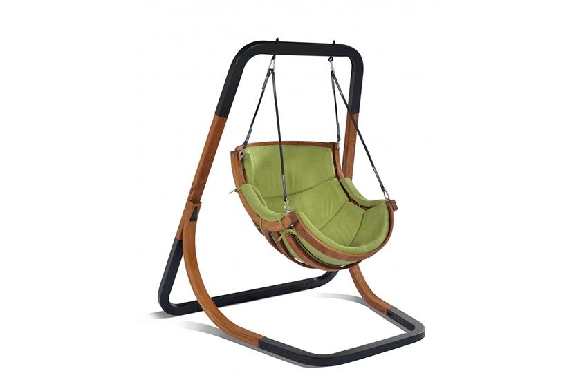 Fotel Alpha Zielony - bujak ogrodowy