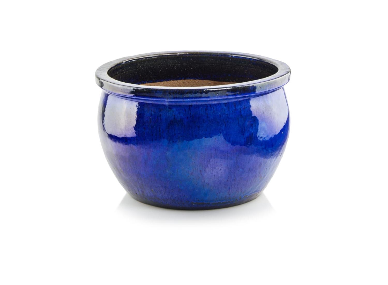 Donica ceramiczna | Glazed Round 25x38 cm