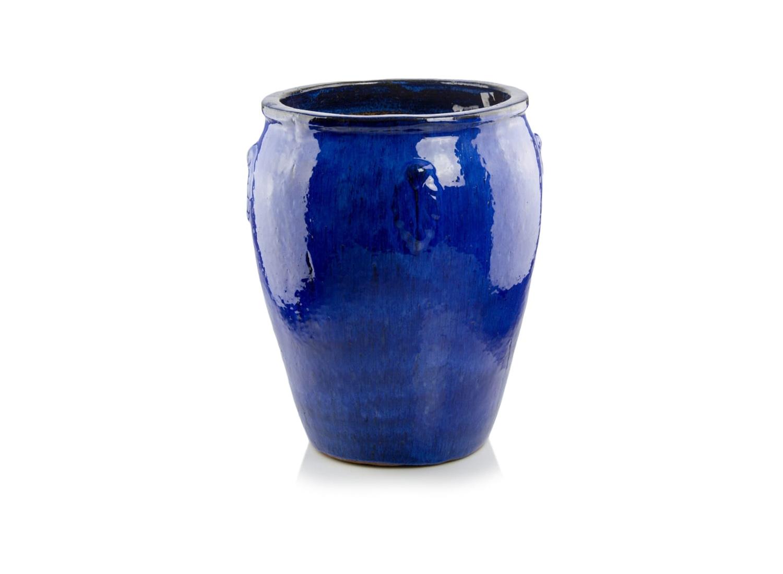 Donica ceramiczna | Glazed Round 50x32 cm