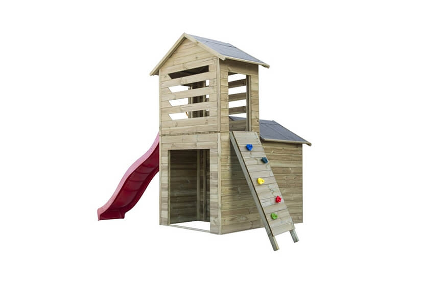Drewniany domek ogrodowy dla dzieci - Robert