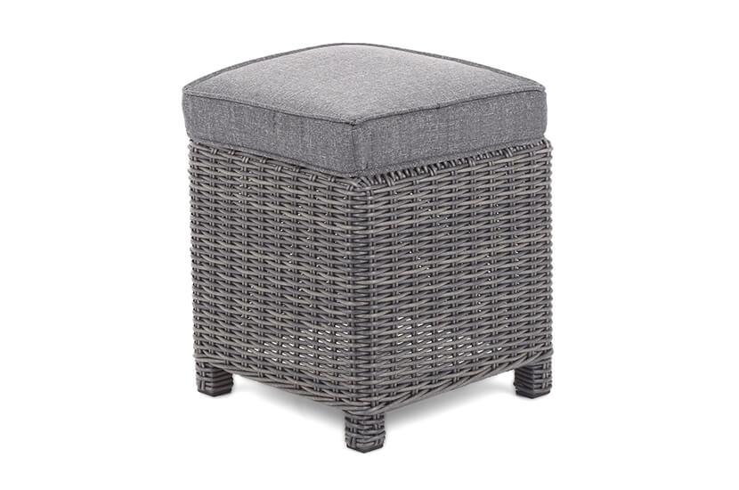 Narożnik technorattanowy Alhambra Glass Grey / Grey