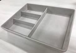Wkładka na akcesoria Décor | Szary 498x399x75 mm