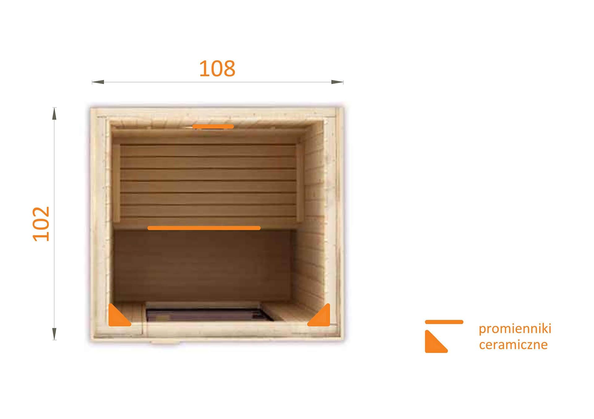 Sauna na podczerwień IR 1