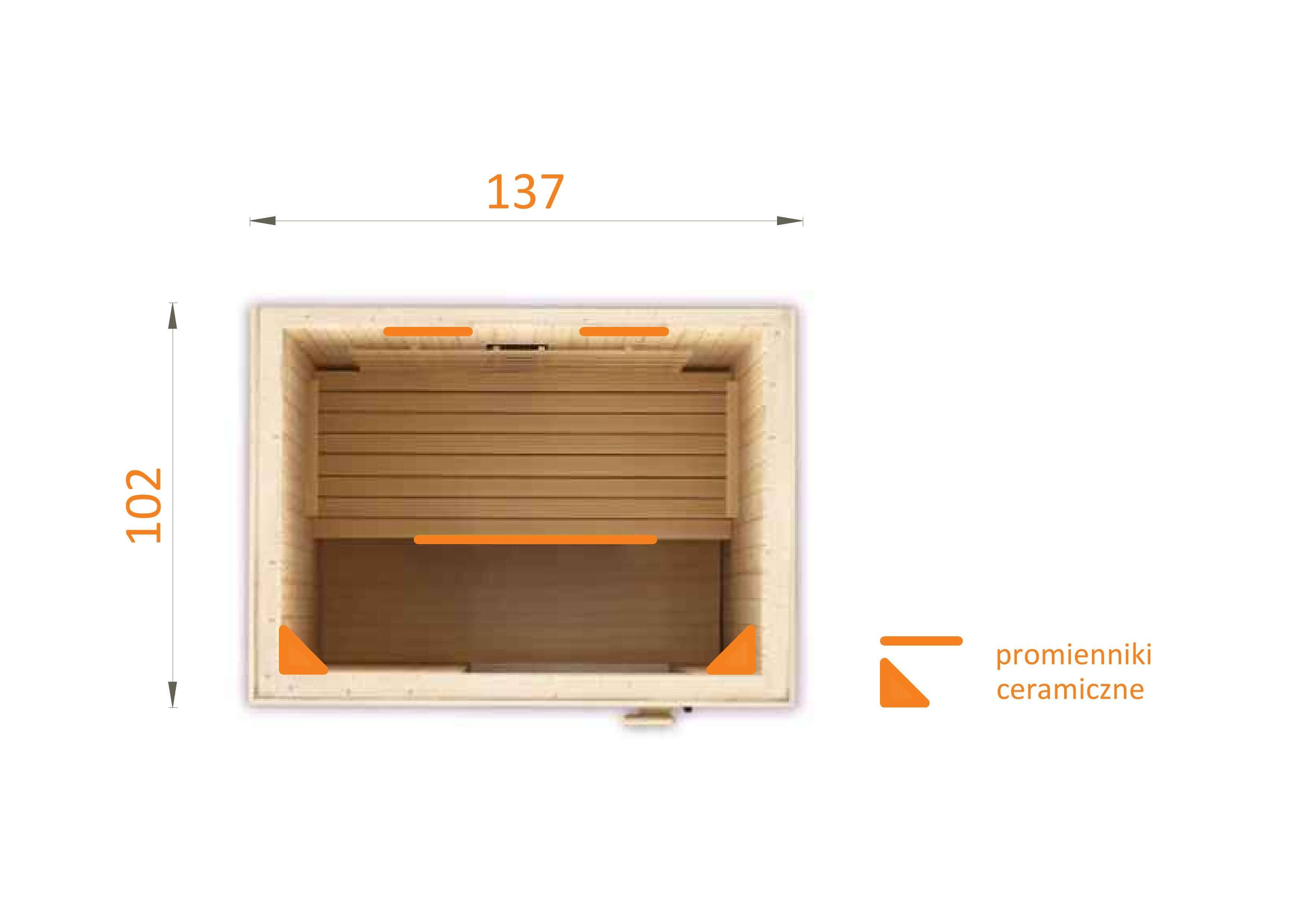 Sauna na podczerwień IR 2