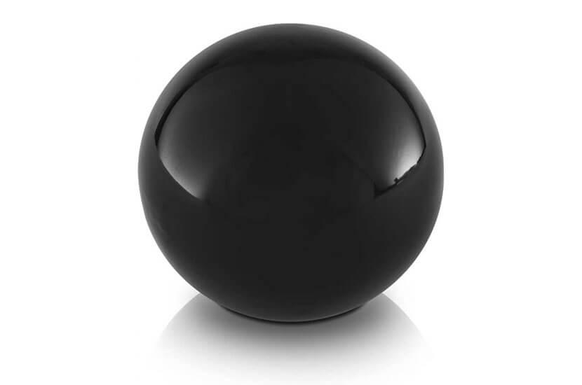 Dekoracyjna kula ceramiczna średnica 19 cm - 2 sztuki