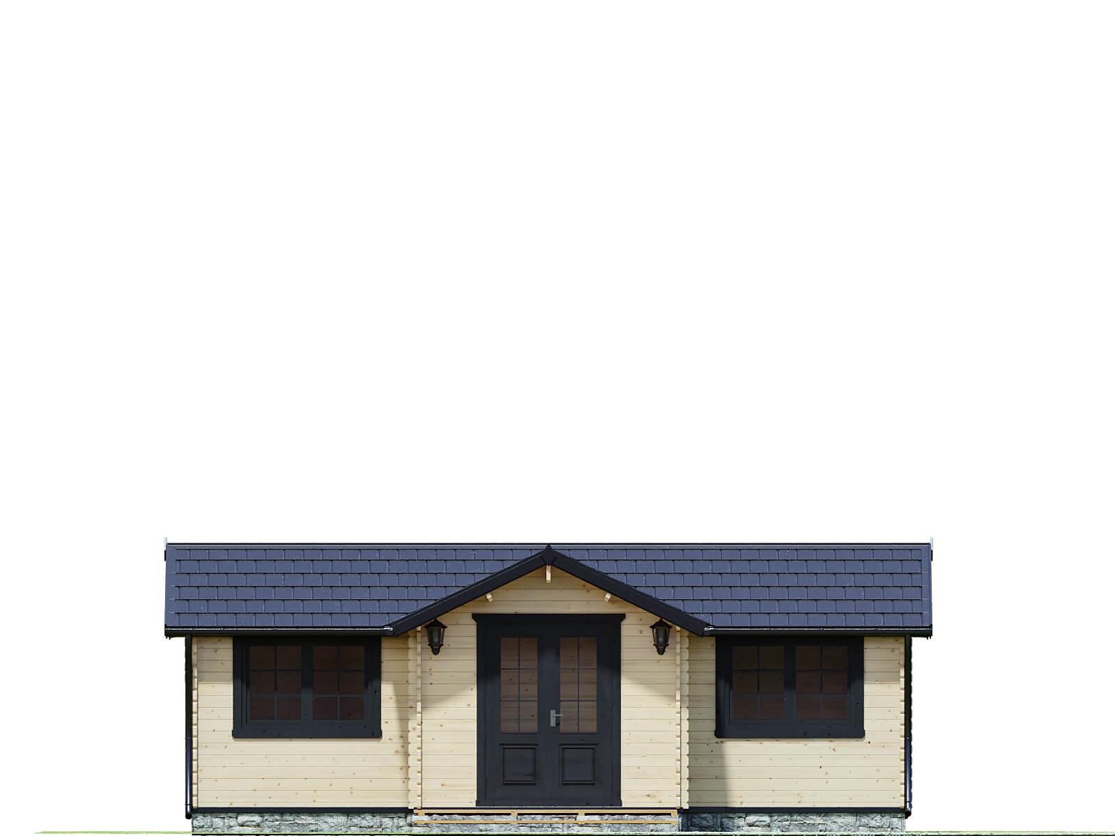 Drewniany domek letniskowy Victoria II