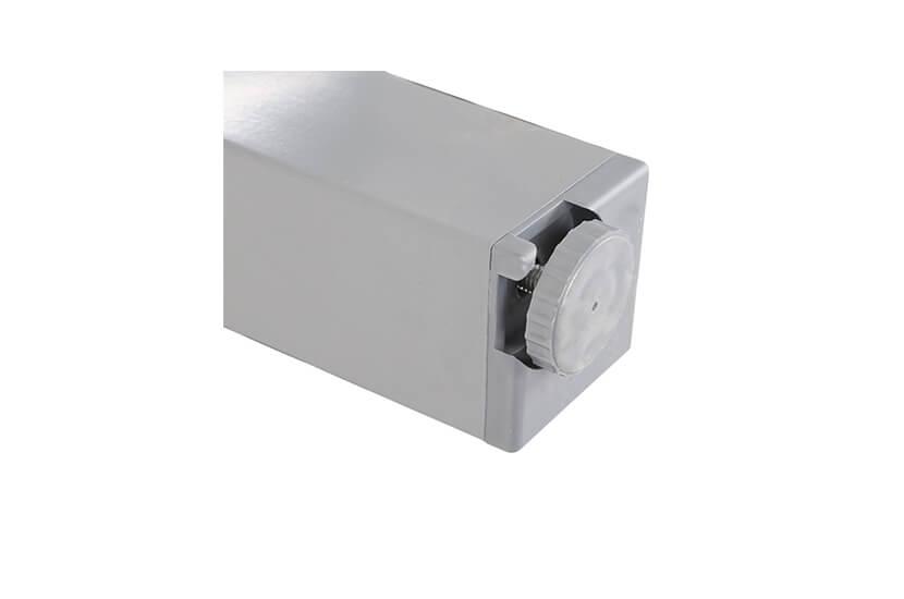 Meble ogrodowe aluminiowe CAMP Silver / Grey 10+1