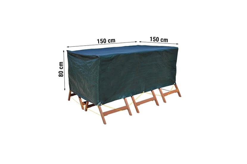 Pokrowiec na meble ogrodowe 150 x 150 x 80 cm