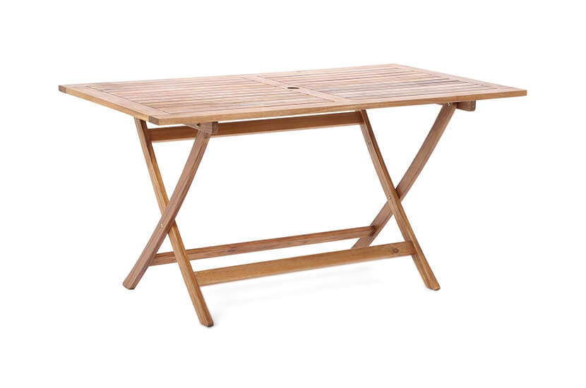 Meble ogrodowe drewniane  4+1