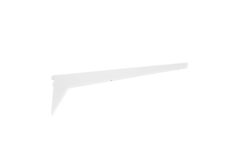 Wspornik półek obcych wzmocniony, kolor biały - 149x13x570 mm Elfa