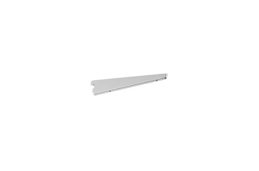 Wspornik półek obcych, kolor platinum - 49x13x270 mm Elfa