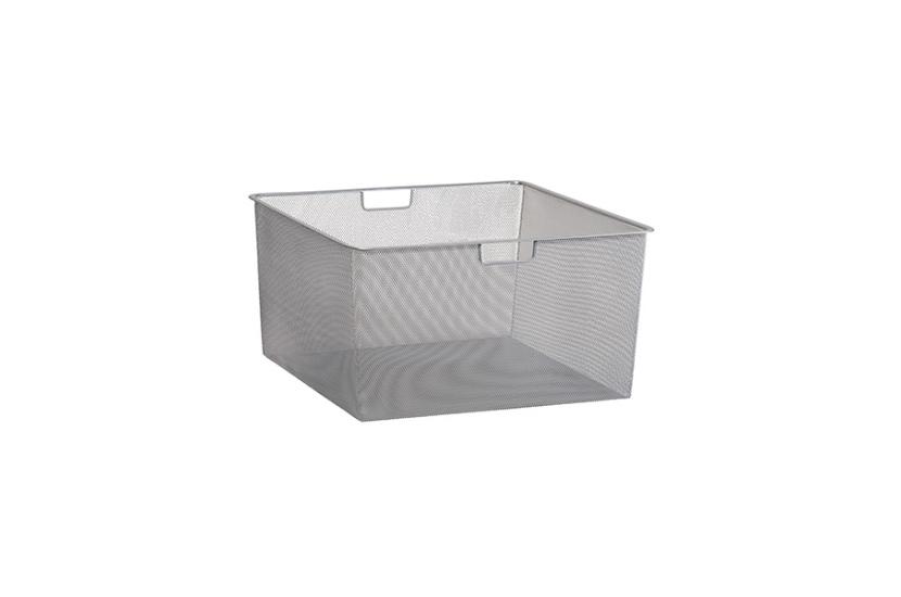 Kosz siatkowy Elfa 55 platinum - 285x527x527 mm