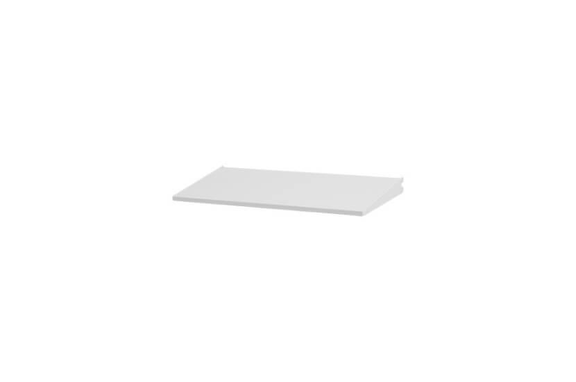 Półka dwustronna biały - 48x267x598 mm Elfa