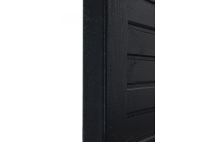 Płot boazeryjny 900/1800 x 900 mm DEGA Antracyt