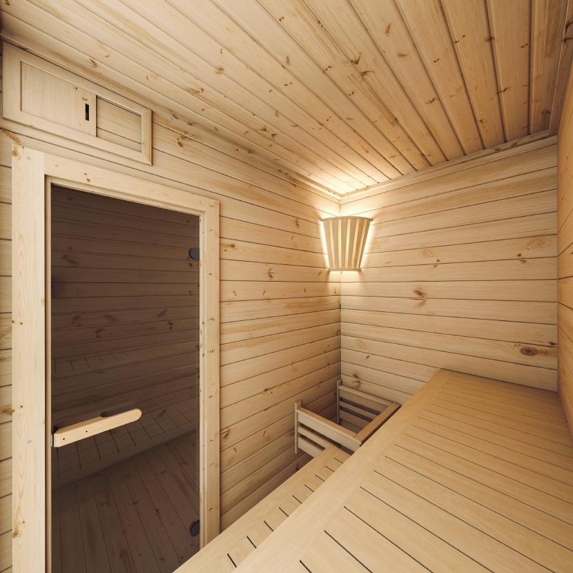 Sauna zewnętrzna-ogrodowa Prymula