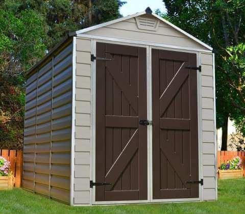 Narzędziowy domek ogrodowy SkyLight 6x8 Tan