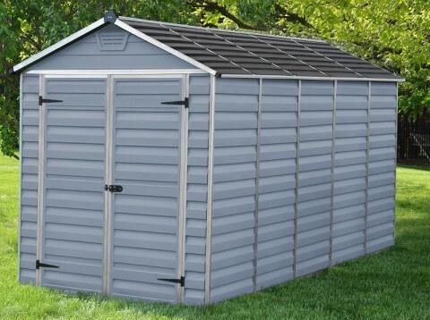 Narzędziowy domek do ogrodu SkyLight 6 x12 Szary