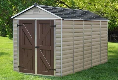 Narzędziowy domek do ogrodu SkyLight 6 x12 Tan