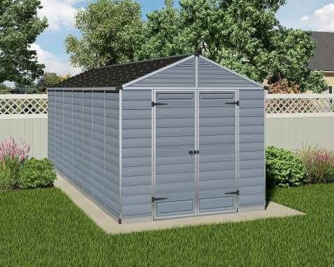 Narzędziowy domek do ogrodu SkyLight 8 x 16 Szary