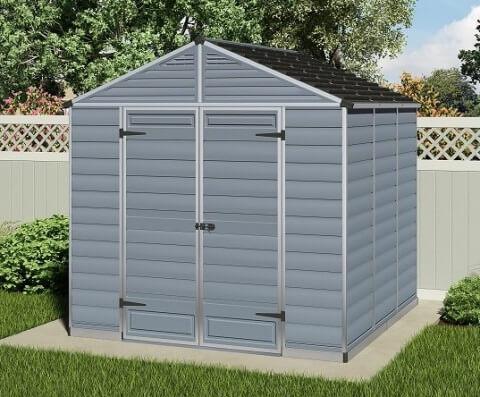 Narzędziowy domek do ogrodu SkyLight 8 x 8 Szary