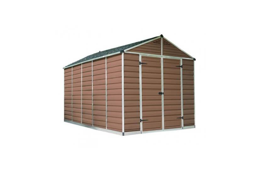 Narzędziowy domek do ogrodu SkyLight 8 x 12 brązowy