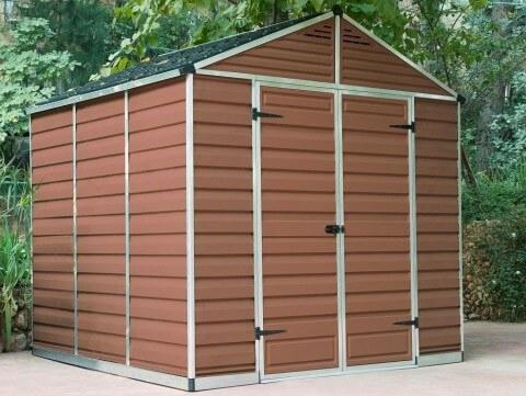 Narzędziowy domek do ogrodu SkyLight 8 x 8 brązowy