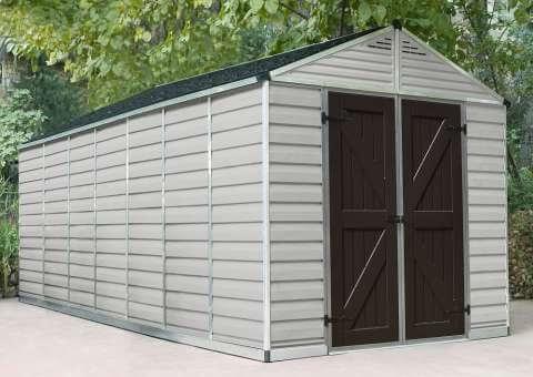 Narzędziowy domek do ogrodu SkyLight 8 x 16 tan