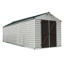 Narzędziowy domek do ogrodu SkyLight 8 x 20 tan